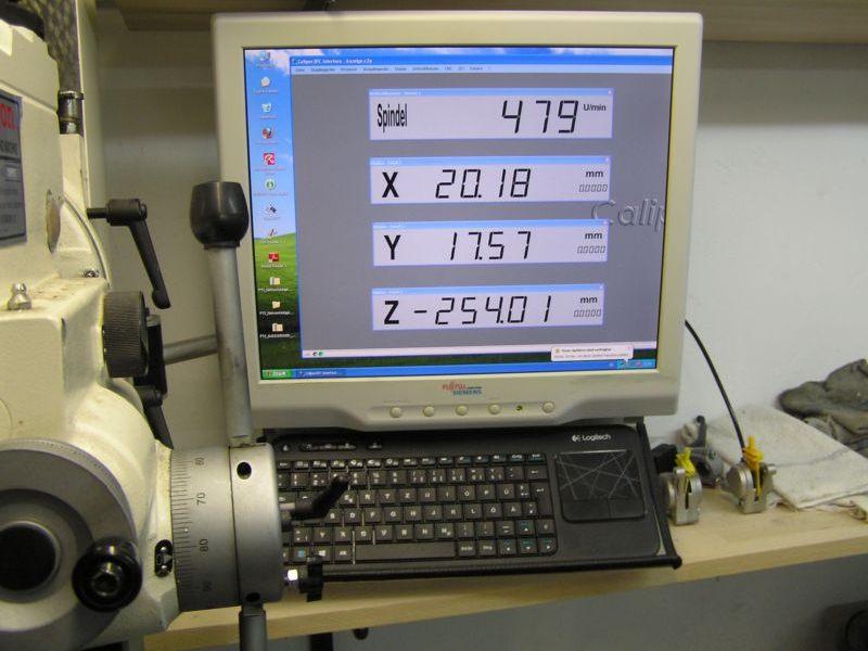 Fräsmaschine DRO