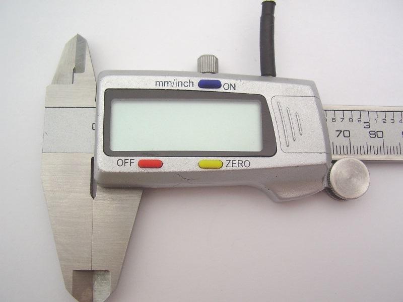 Messschieber 7-BCD (Aldi) Silber